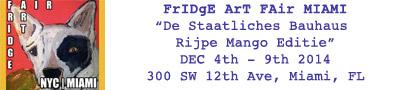 Fridge Art Fair Miami
